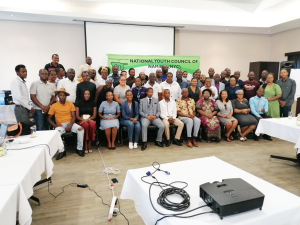 Group photo of members that attended the Representative Council meeting